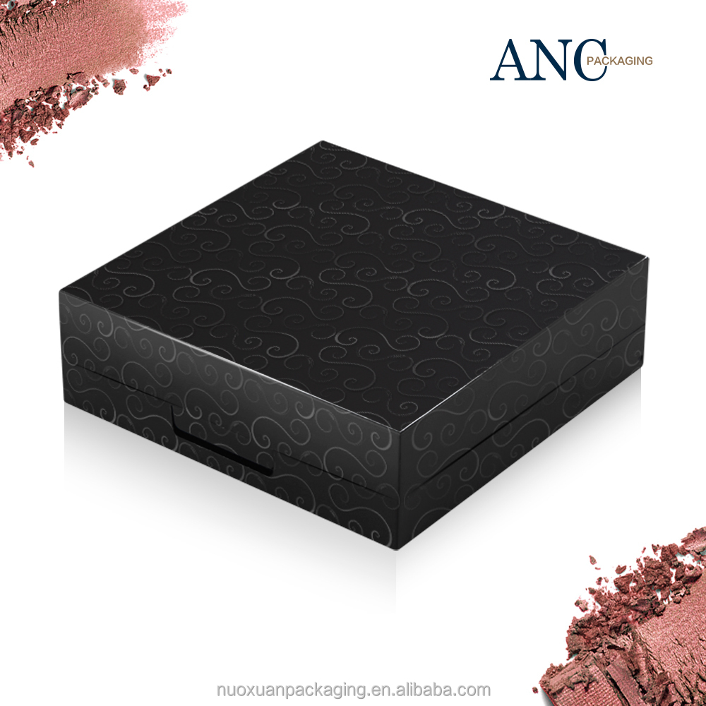 ANC cosmetics packaging plastic popular top paper eyeshadow case plastic printing