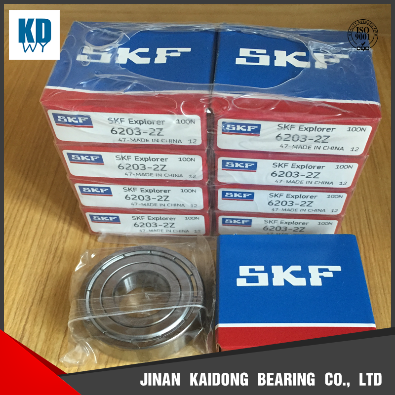 SKF high quality deep groove ball bearing 6203-2Z 6203 size 17*40*12