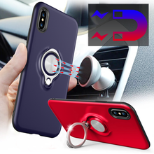 mini phone shell for iphone x,ring holder phone case for iphone 8, 10 phone case