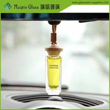 Family expenses car perfume holder bottles,10ml car hanging aromatic bottle