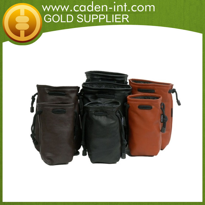 Customized Leather Digital Camera Case Small Camera Bags