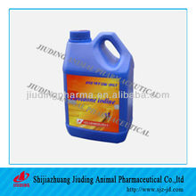 GMP povidone iodine solution 5% 10% for livestock disinfectant