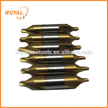 Drilling metal stainless steel HSS titanium center drill bit for sale