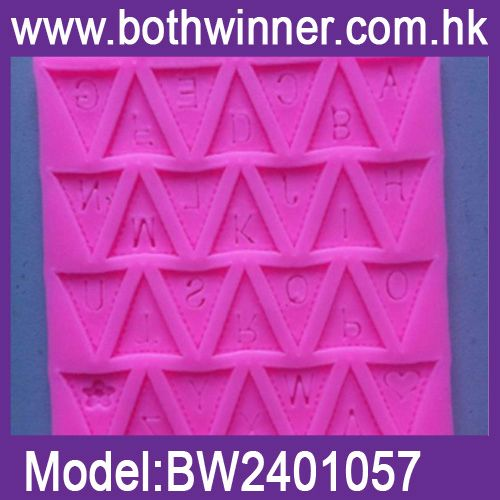 DA113 baroque candle shape cake decoration mould