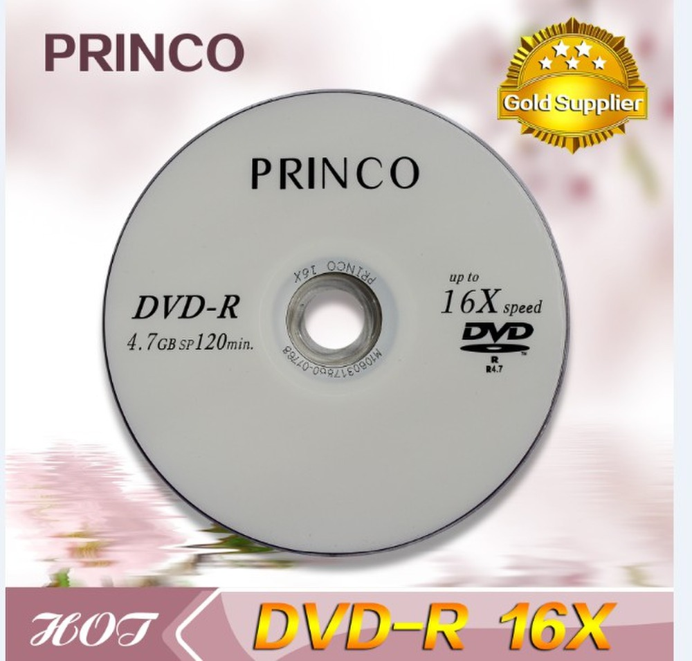 Whosale princo dvd 16X 4.7GB
