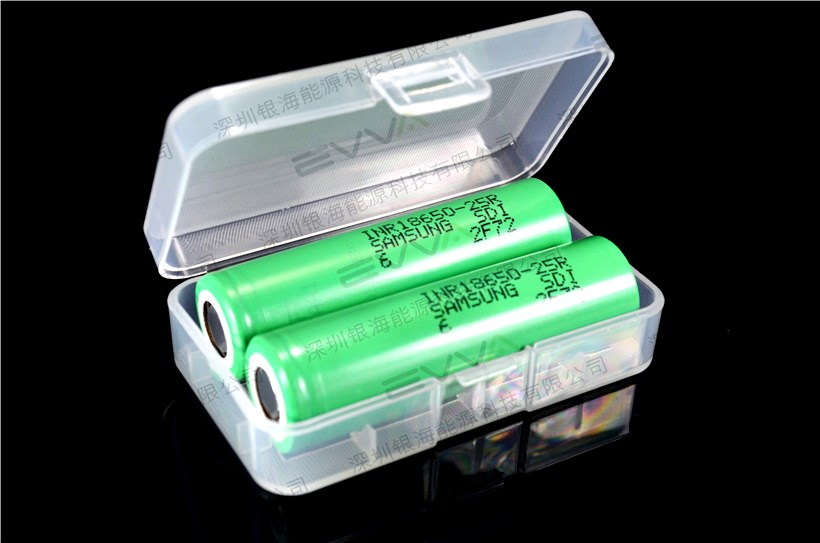 High drain for e-cigarettes and e-bike Samsung INR18650-25R 18650 cylinder 3.6V 2500mAh 20A Li-ion Battery Cell