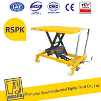 High-strength best sell manual mini lab lift table
