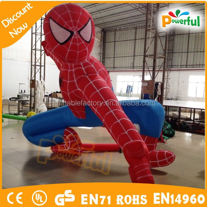 giant inflatable spiderman,inflatable advertising model