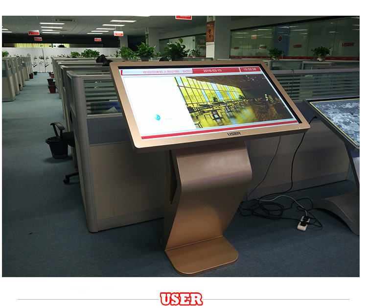 55 inch LCD Advertising Display With WIFI/RJ45 Built in