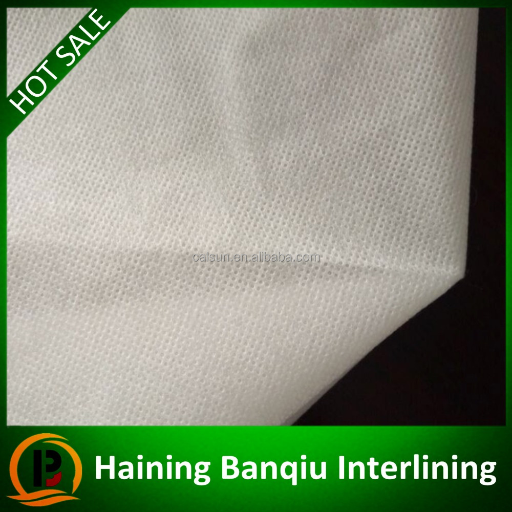 Interlining factory price Hot water soluble non woven Embroidery backing paper for lace