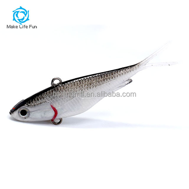 Wholesale 55/95/115mm Lifelike Japanese Soft Plastic <strong>Fishing</strong> Lures Soft vibe lure