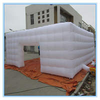 Hot-selling outdoor wedding big PVC inflatable tent china large custom inflatable led cube tent price for party