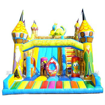 Harry Potter theme slide, Bikidi inflatable slide B4024