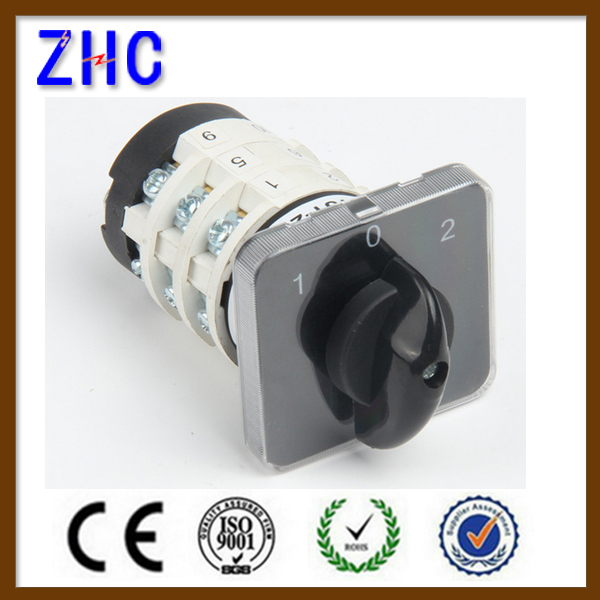 20A 25A 32A 40A 50A 63A 125A Electrical Power Generator Control Multiple Position On Off Universal Panel Cam Rotary Switch