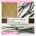 Nylon braided fishing nets for safety nets and balcony use