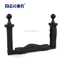 Meikon Aluminium arm for mounting stobes/video lights to undewater accessories diving equipment tray