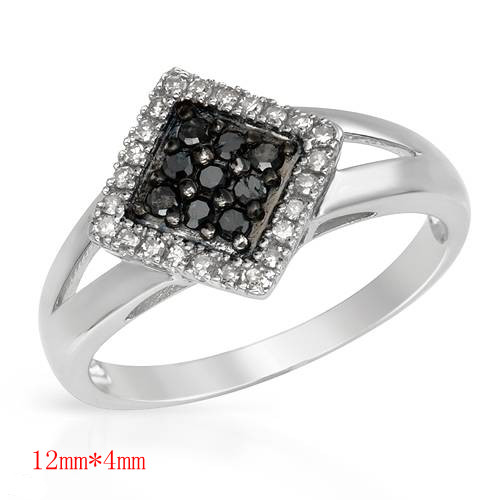 hot sale love wedding ring jewelry gift silver plated stainless steel+cubic zircon anti-allergic ZZR099