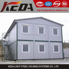 Economic cheap prefab sandwich panel made container house