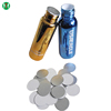 Food grade plastic cup bottle induction seal / mayonnaise aluminium foil seal