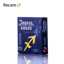 latest fashion promotional different types of male condoms hot sale