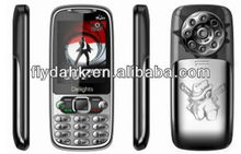 "2.4"" quad band dual sim cheap mobile phone Q007"