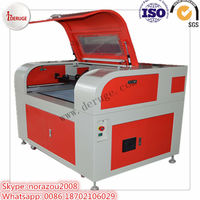 Deruge laser cutting machine 6090 for photo 6090 laser engraving/cutting machine album carving with auto