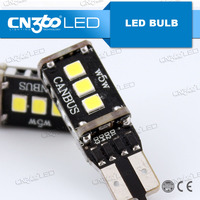 Super bright car accessories w5w 168 194 led bulb canbus