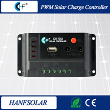 pwm 10a 12/24v intelligent solar battery charge controller