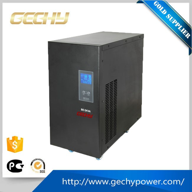 6KVA On-line type pure sine wave ups Uninterruptible Power Supply/ups with 2 hours backup