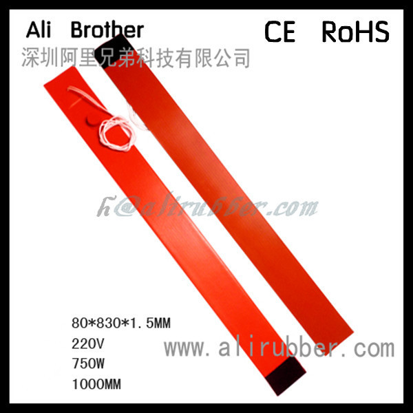 Silicone Pipe Heater, Silicone Tube Heating Strip, Silicone Heating Belt 15mm x 4200mm 400W 220V