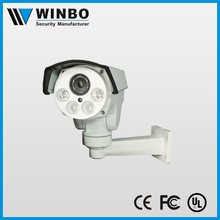 Shenzhen 1080P ptz bullet ip camera with 4pcs Array LED