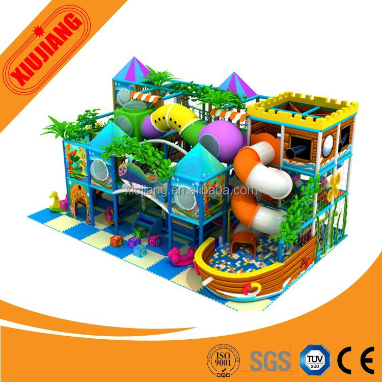 Newest design Mcdonalds indoor playground equipment for children game play