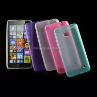 Good quality jelly candy rubber soft gel tpu Back Cover Case For Microsoft Lumia 640