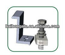 CNC Milling Mechanical Part /frame fixed foot/ solar module clamp