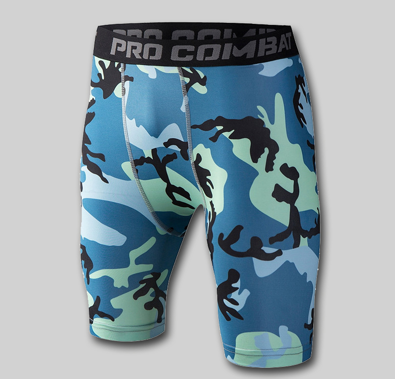 Custom compression clothing sublimated printed compression shorts/gym workout fitness leggings