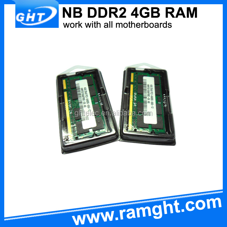 Quality approved 2 Piece 2x4GB 8gb pc2-6400 ddr2 sodimm 800mhz 200-pin memory ram