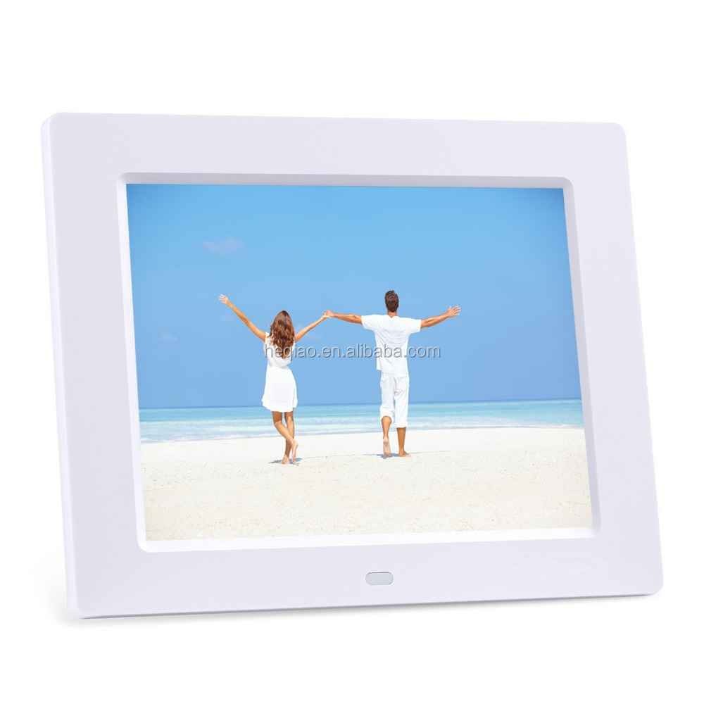 2016 New style Black White 10.1 inch LCD Screen in Digital photo Frame Electronic photo frame