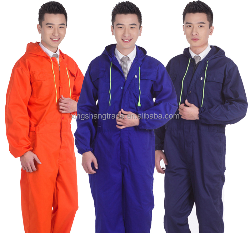 XS-DF-WK-021 OEM workers work overall uniforms suit