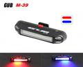 GUB M-39 Bright Bike Tail FlashLight Warning handlebar Rear Light Lamp Bycicle LED Warning Lamp 2 Colors USB Rechargeable