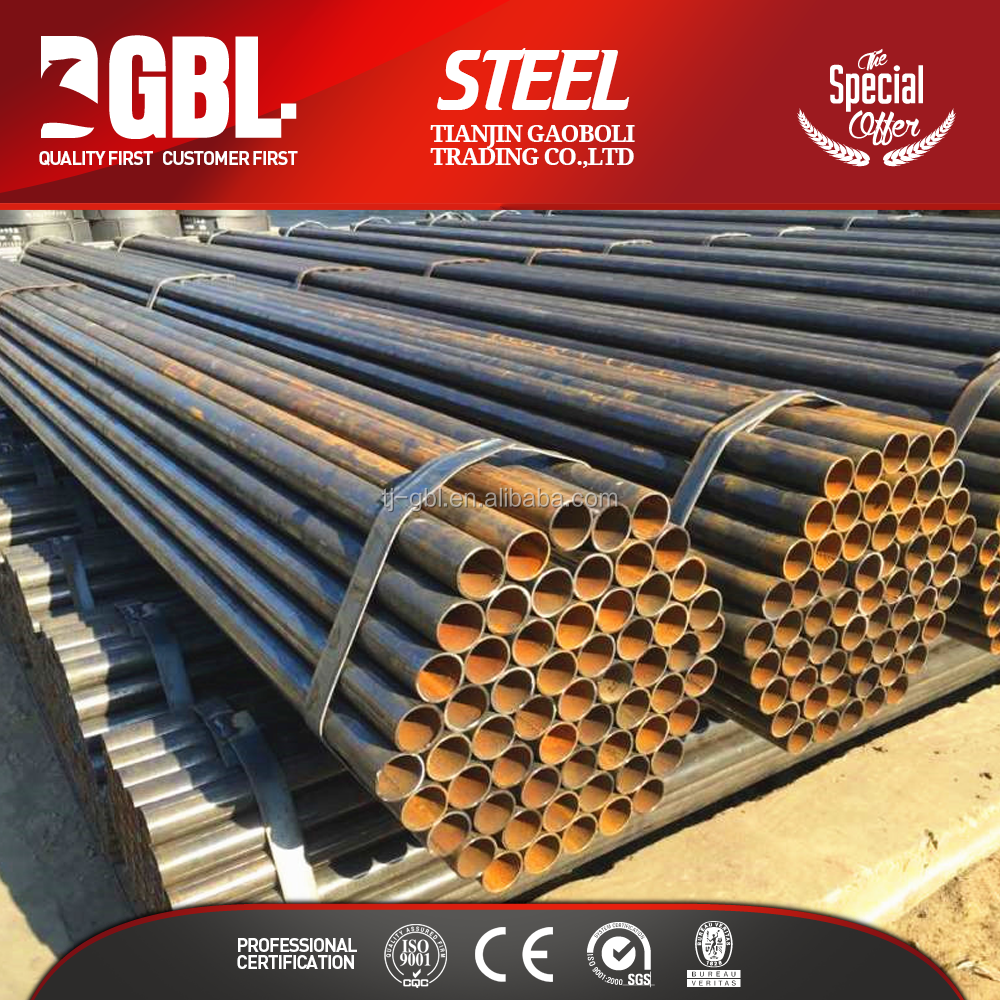 circular hollow section carbon steel pipe properties