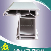 Co-extrusion white PVC Profile, Plastic Decoration Profile