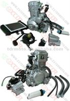 Zongshen 250CC 167FMM water cooled with reverse RN12345, electric start