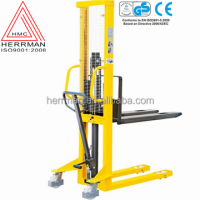 (HERRMAN)manual forklift manual pallet stacker