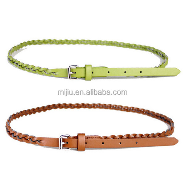 2014 Hot Sale Leather Fashion Women Accessory Elastic Belt for Correcting Posture