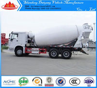 Hot sale concrete mixer truck/concrete mixer machine/concrete mixer spare parts