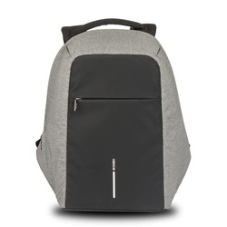 Newest fashion leisure travel anti theft waterproof laptop backpack bag with USB charging school bag