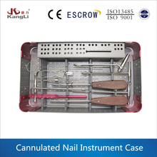 Name of orthopedic instruments for surgical instrument set for 3.5 cannulated screw