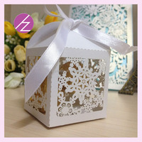 Hot wedding favor gift! laser cut wedding party supplies cakes transport boxes free logo free design TH-235