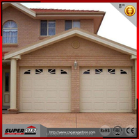 Sectional Insulated Garage Door Panels / Overhead insulated garage door