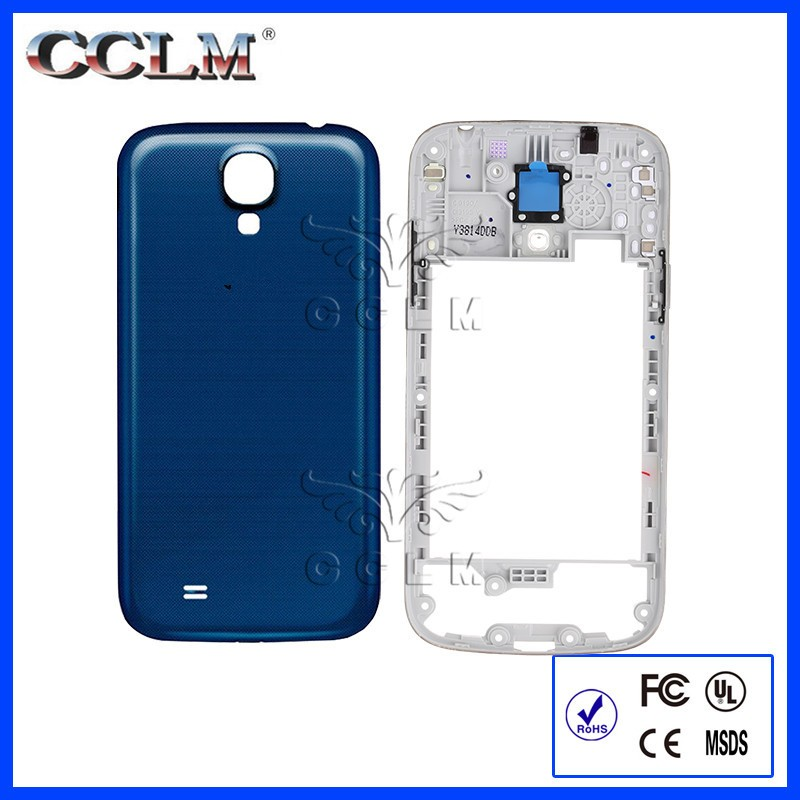 Original Battery Back Rear Door Case Cover Housing For Samsung Galaxy S4 mini i9190 i9195 Middle Bezel Frame